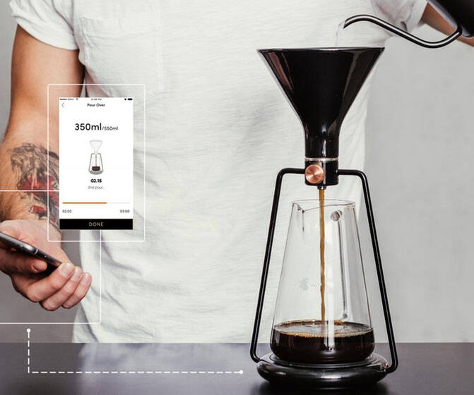 The Smart Coffee Brewing Instrument