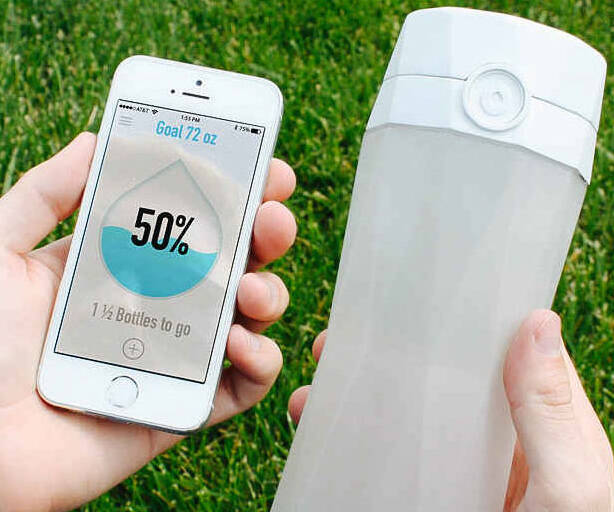 Smart Water Bottle - http://coolthings.us