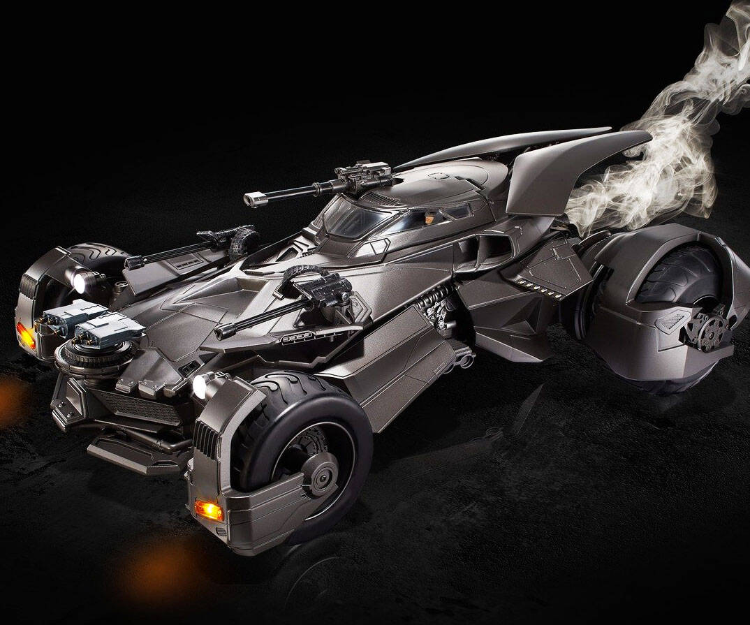Smartphone Controlled Batmobile - http://coolthings.us