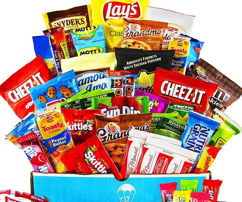 Ultimate Snacks Variety Box - http://coolthings.us