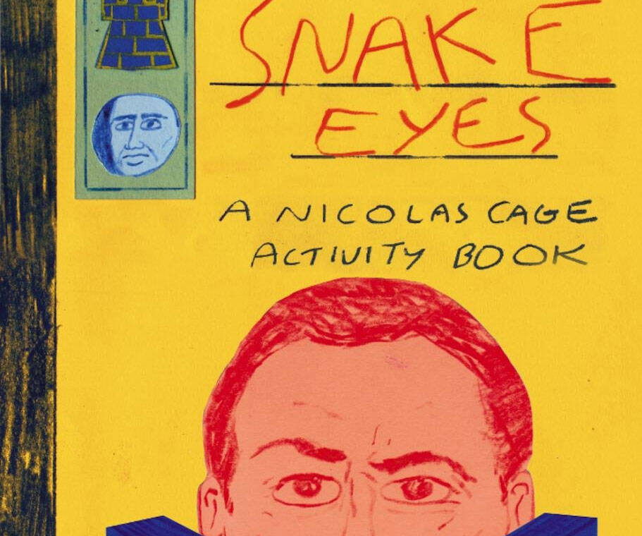 Nicolas Cage Activity Book - http://coolthings.us