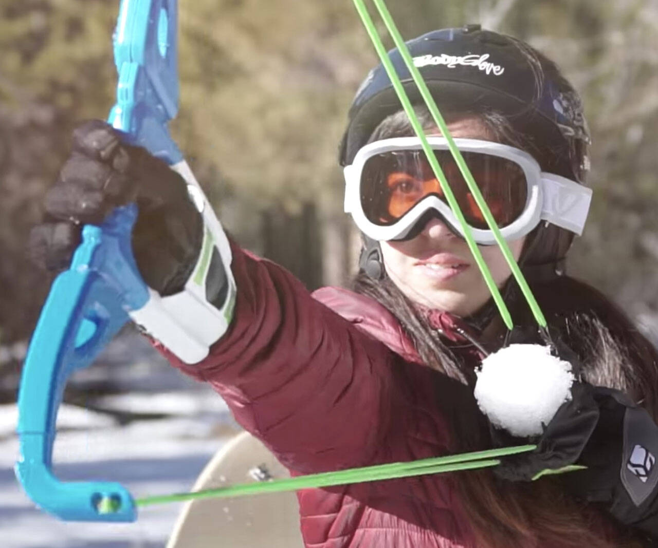 The Snowball Firing Bow - http://coolthings.us