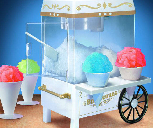 Oldies Style Snow Cone Machine - http://coolthings.us