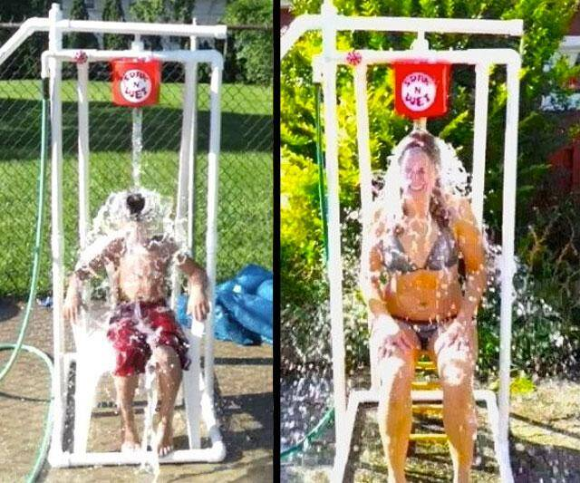 Soak 'N' Wet Dunk Tank - http://coolthings.us