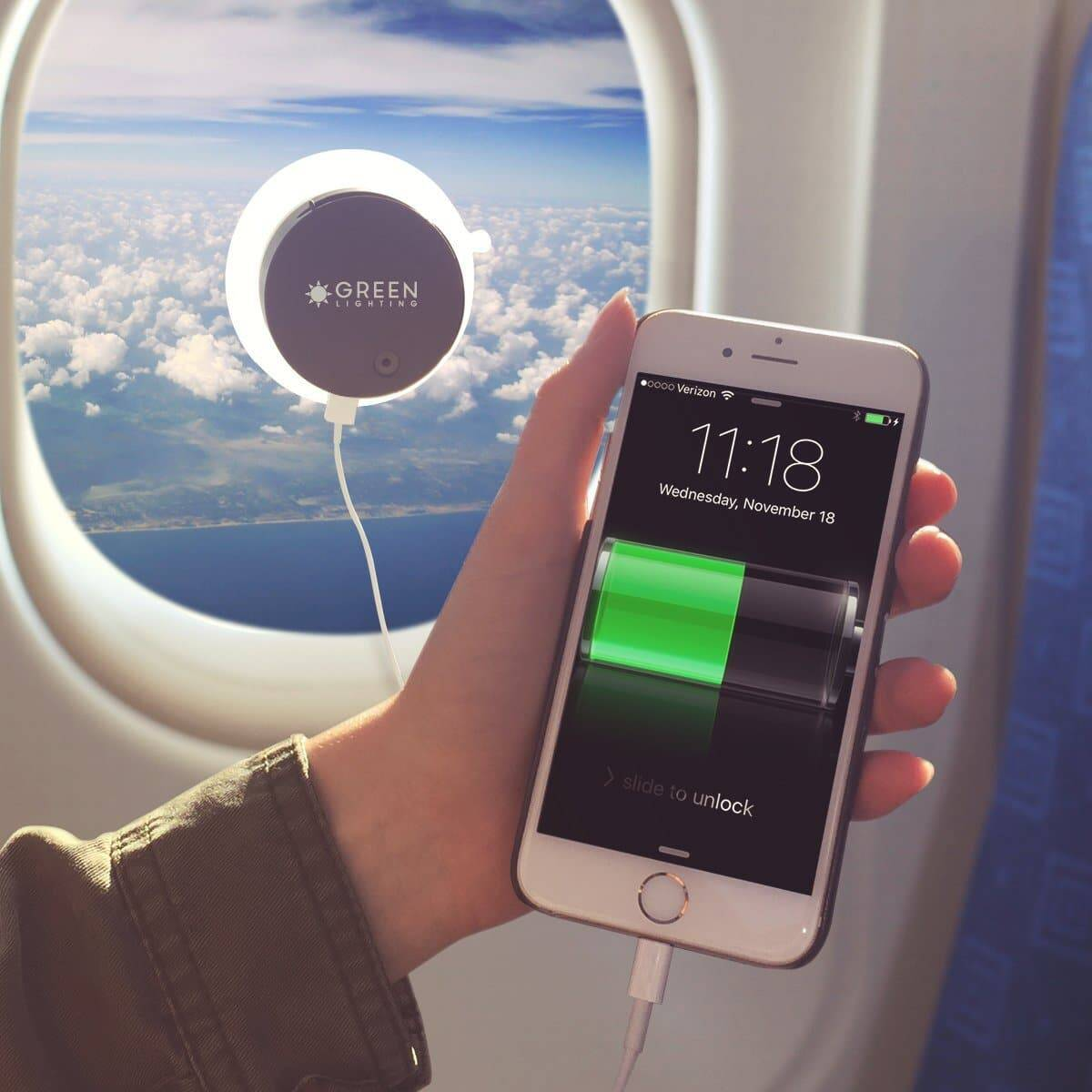 Solar Panel Phone Charger - http://coolthings.us