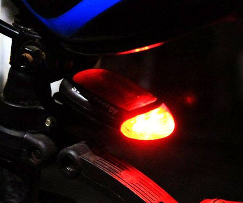 Solar Powered Bike Tail Light - http://coolthings.us