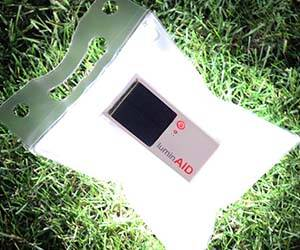 Solar Powered Inflatable Light