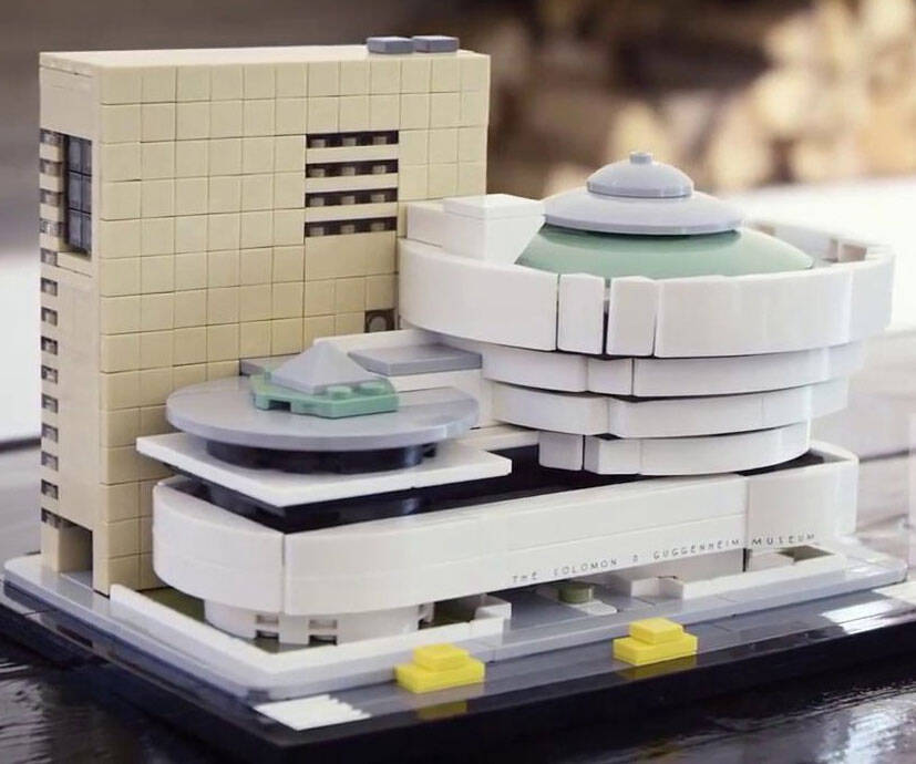 Guggenheim Museum LEGO Set - http://coolthings.us