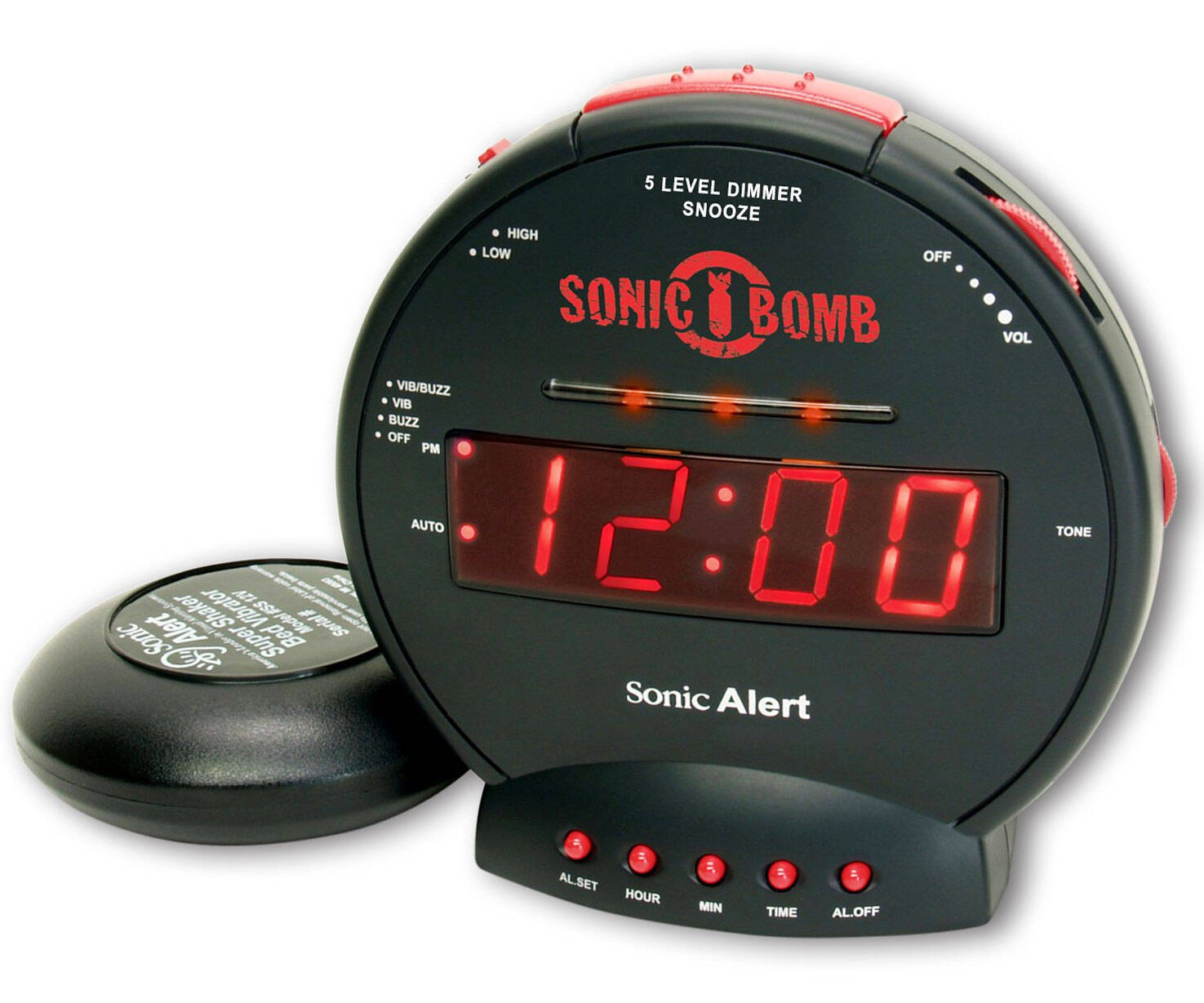 Sonic Bomb Ultra Loud Alarm Clock - http://coolthings.us