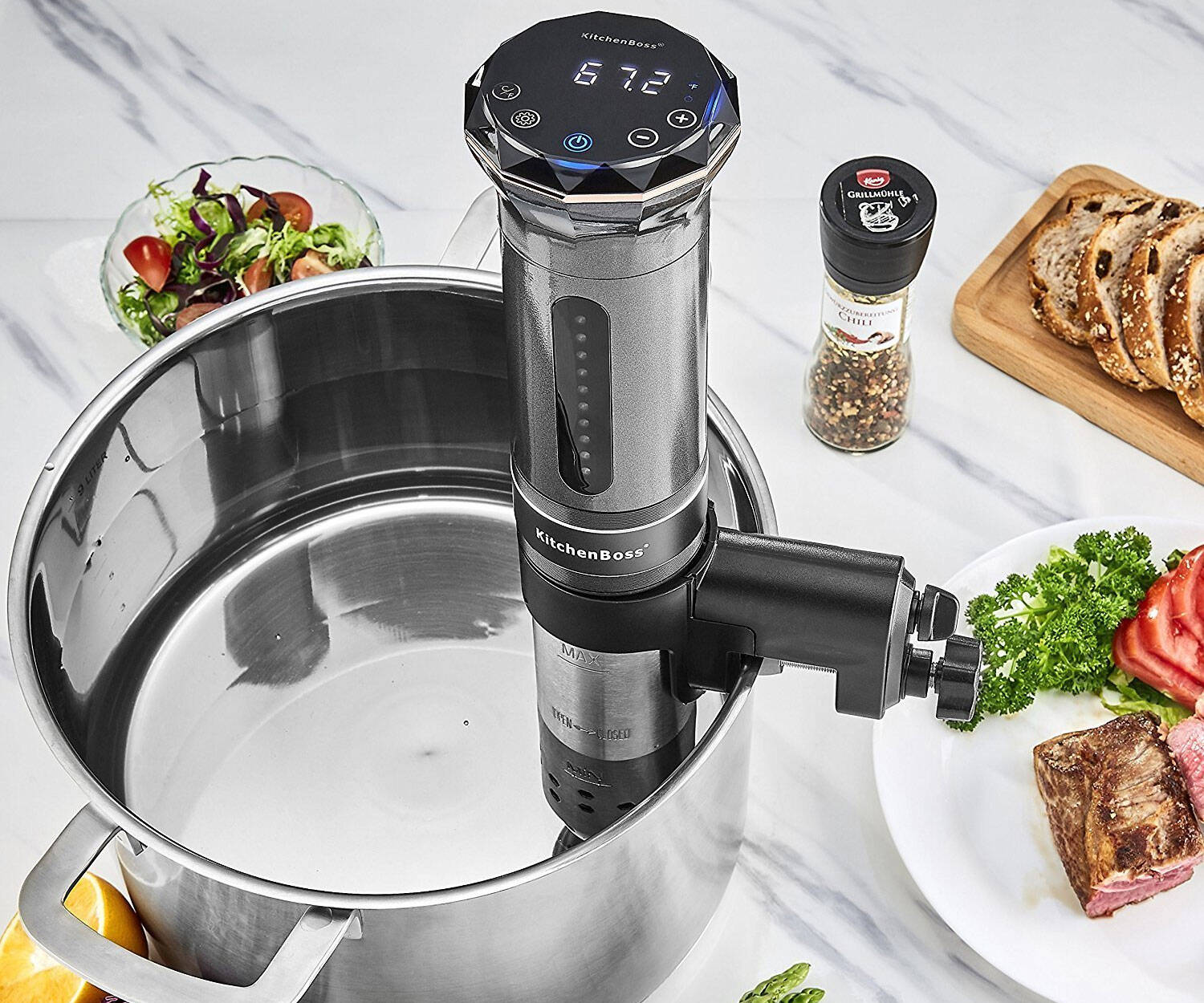 Sous Vide Precision Cooker - http://coolthings.us