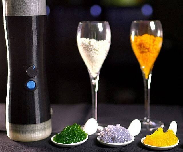 Imperial Spherificator - Turn Any Food Into Caviar - http://coolthings.us