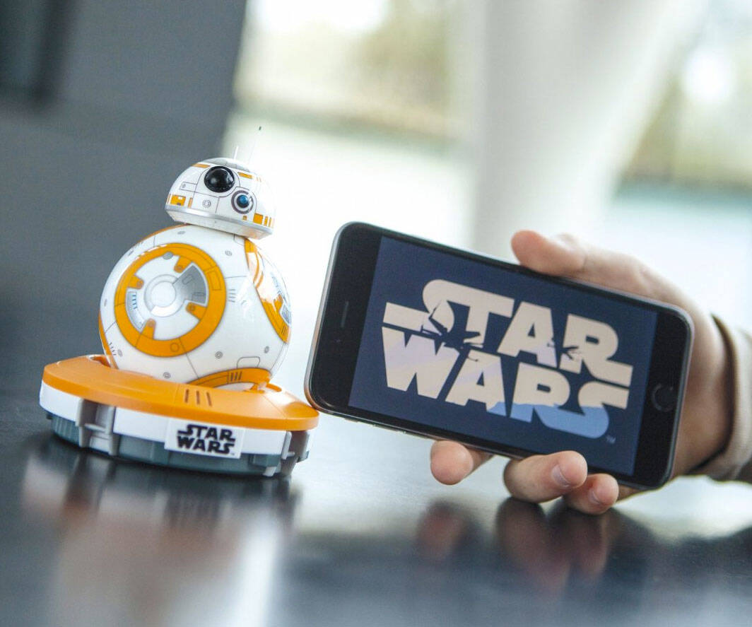 Mini Star Wars BB-8 Droid - http://coolthings.us