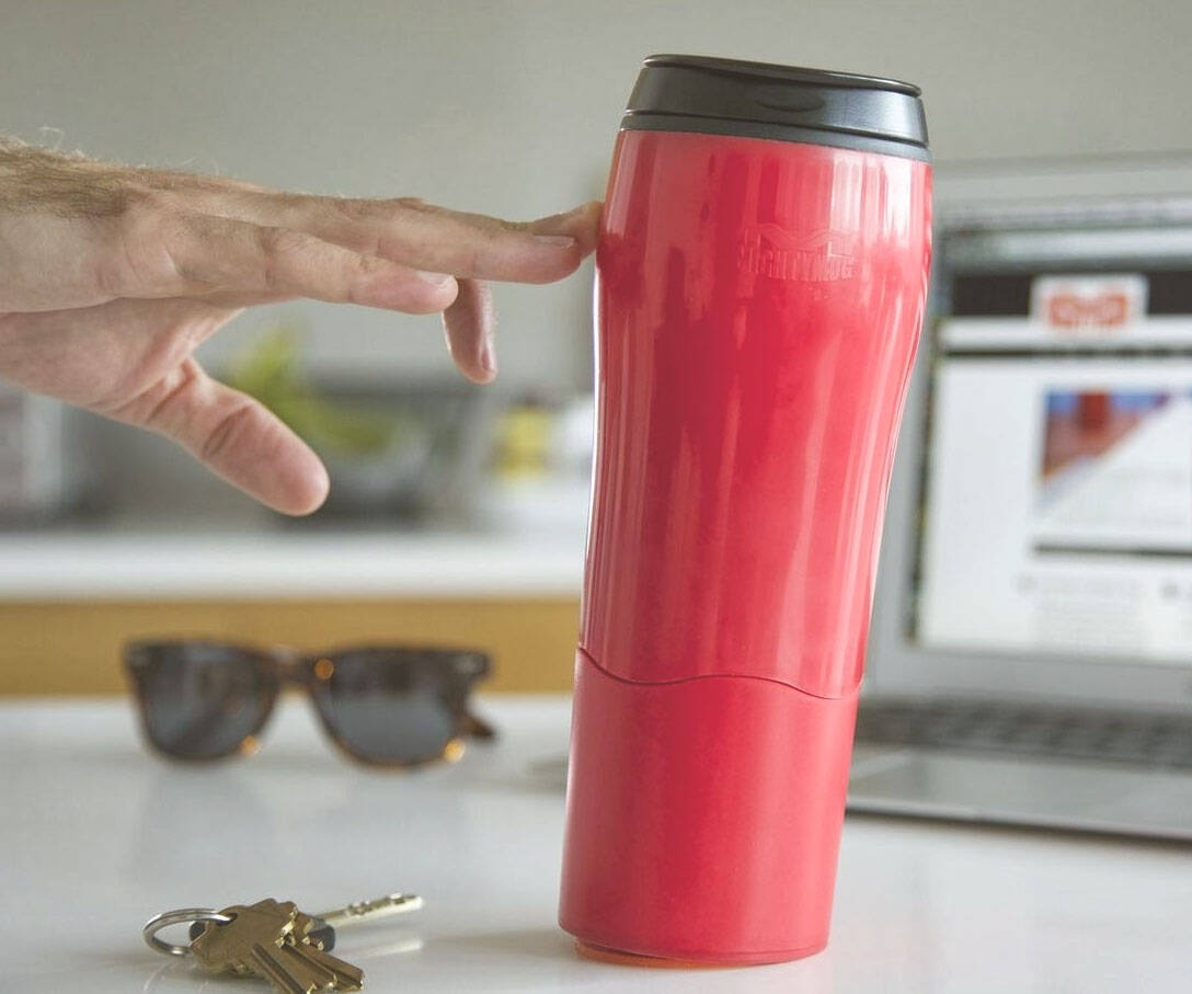 Spillproof Travel Mug - http://coolthings.us
