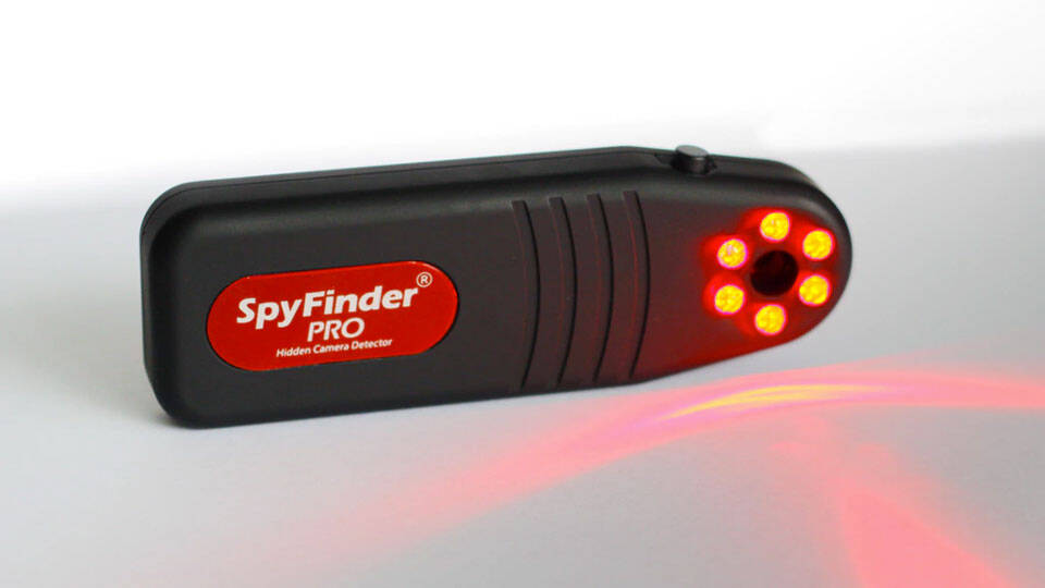 SpyFinder Pro Hidden Camera Detector - http://coolthings.us