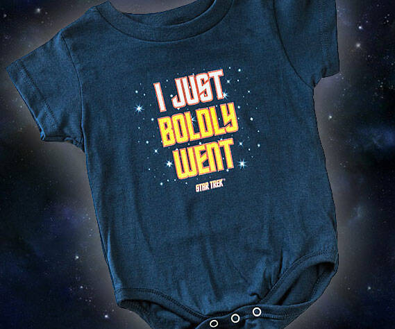 Star Trek Baby Onesie - coolthings.us