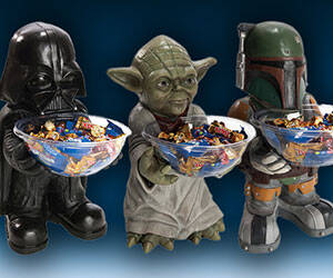 Star Wars Candy Holders - http://coolthings.us