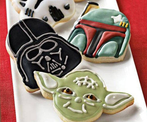 Star Wars Baking Molds - http://coolthings.us