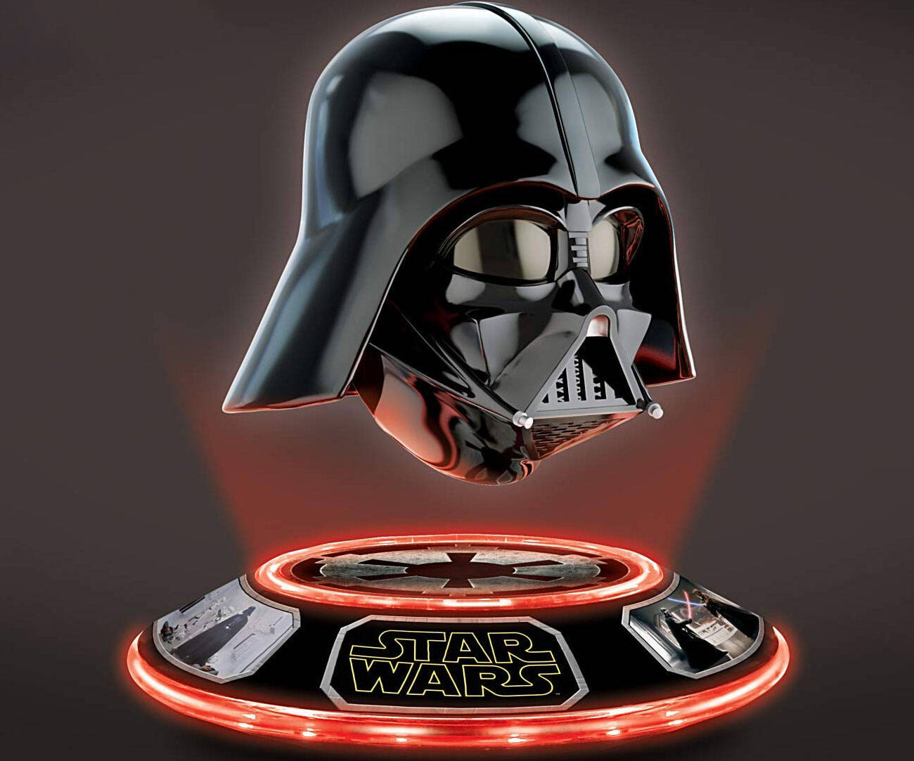 Levitating Darth Vader Helmet - http://coolthings.us