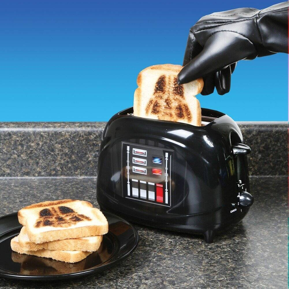 Star Wars Darth Vader Toaster - http://coolthings.us