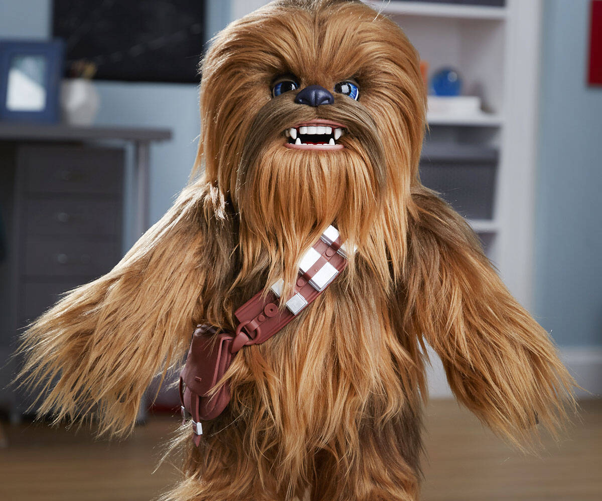 Miniature Interactive Chewbacca - http://coolthings.us
