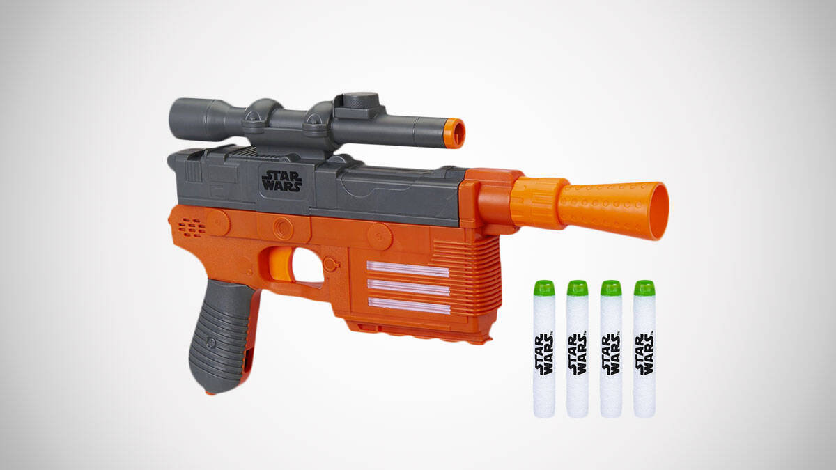 Star Wars Nerf Han Solo Blaster - http://coolthings.us
