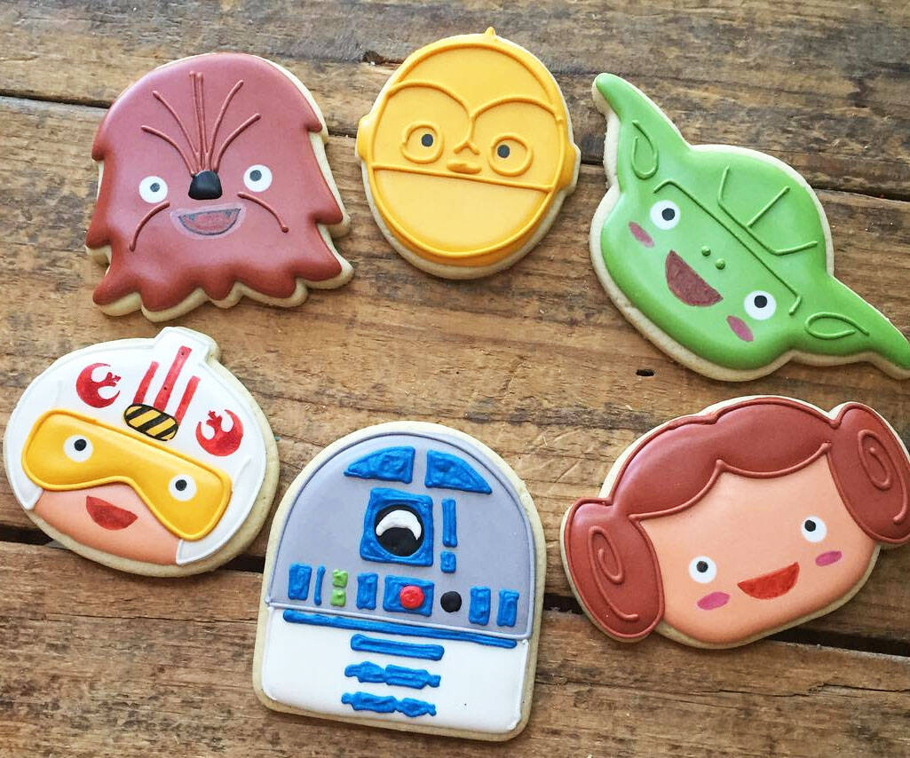 Star Wars Cookie Cutter Set - http://coolthings.us