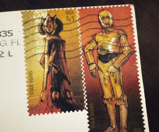 Star Wars Collectible Stamps - http://coolthings.us