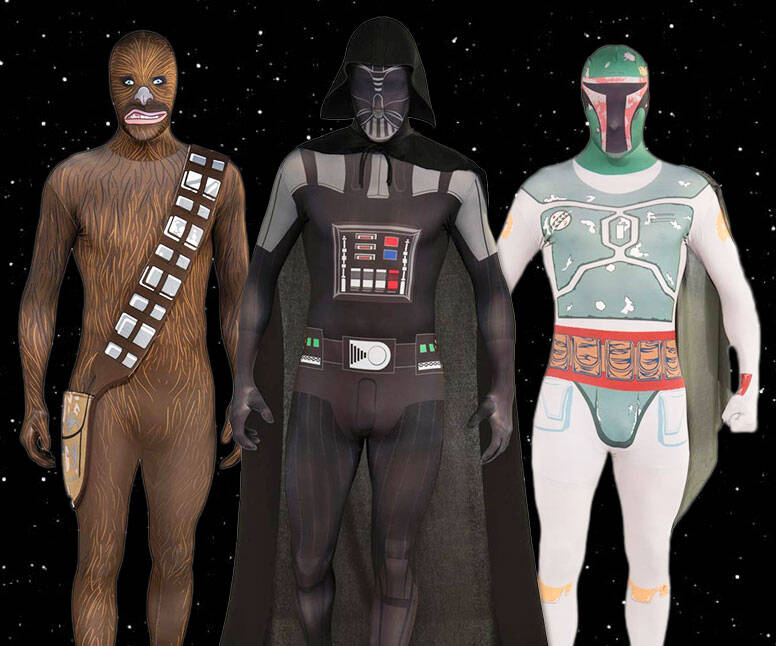 Star Wars Skin Suits - http://coolthings.us