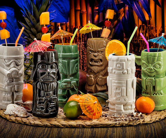Star Wars Tiki Cups - http://coolthings.us