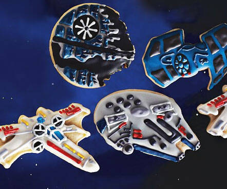 Star Wars Vehicles Cookie Cutters - http://coolthings.us