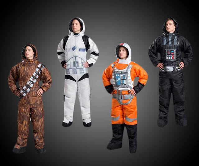 Star Wars Wearable Sleeping Bags - http://coolthings.us