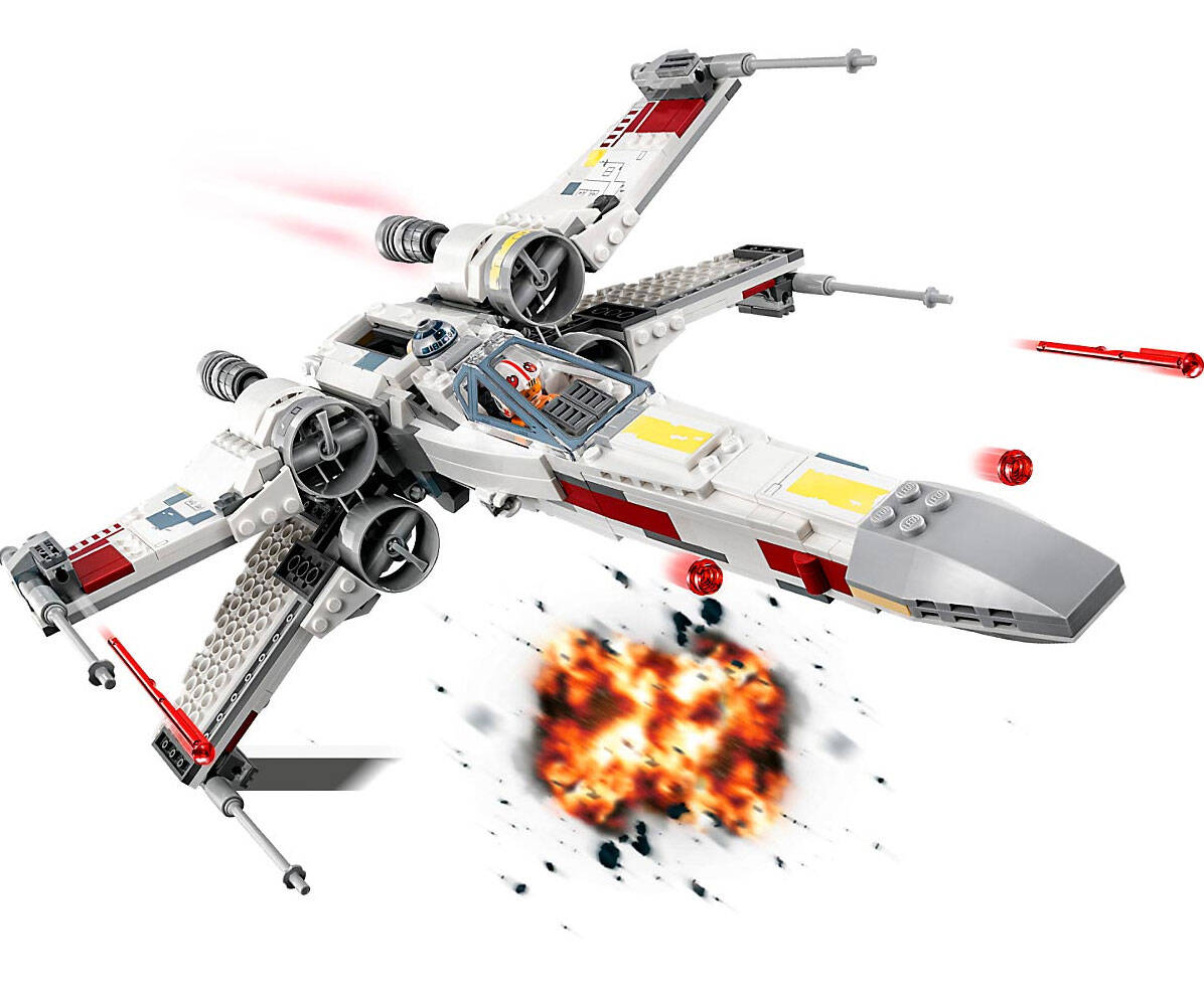 LEGO x-Wing Starfighter Set - http://coolthings.us