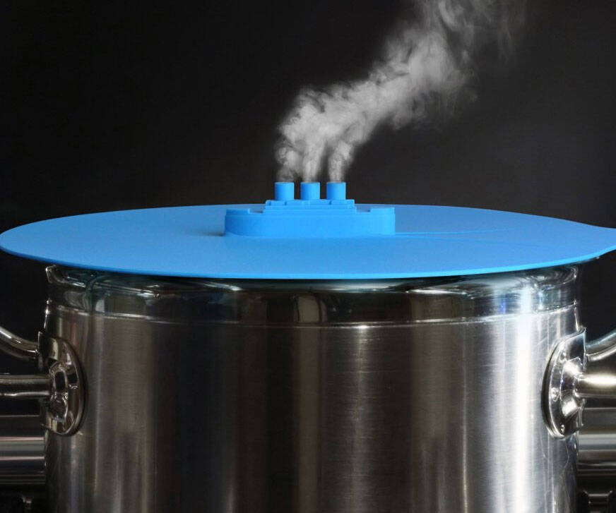 Steam Ship Steamer Lid - http://coolthings.us