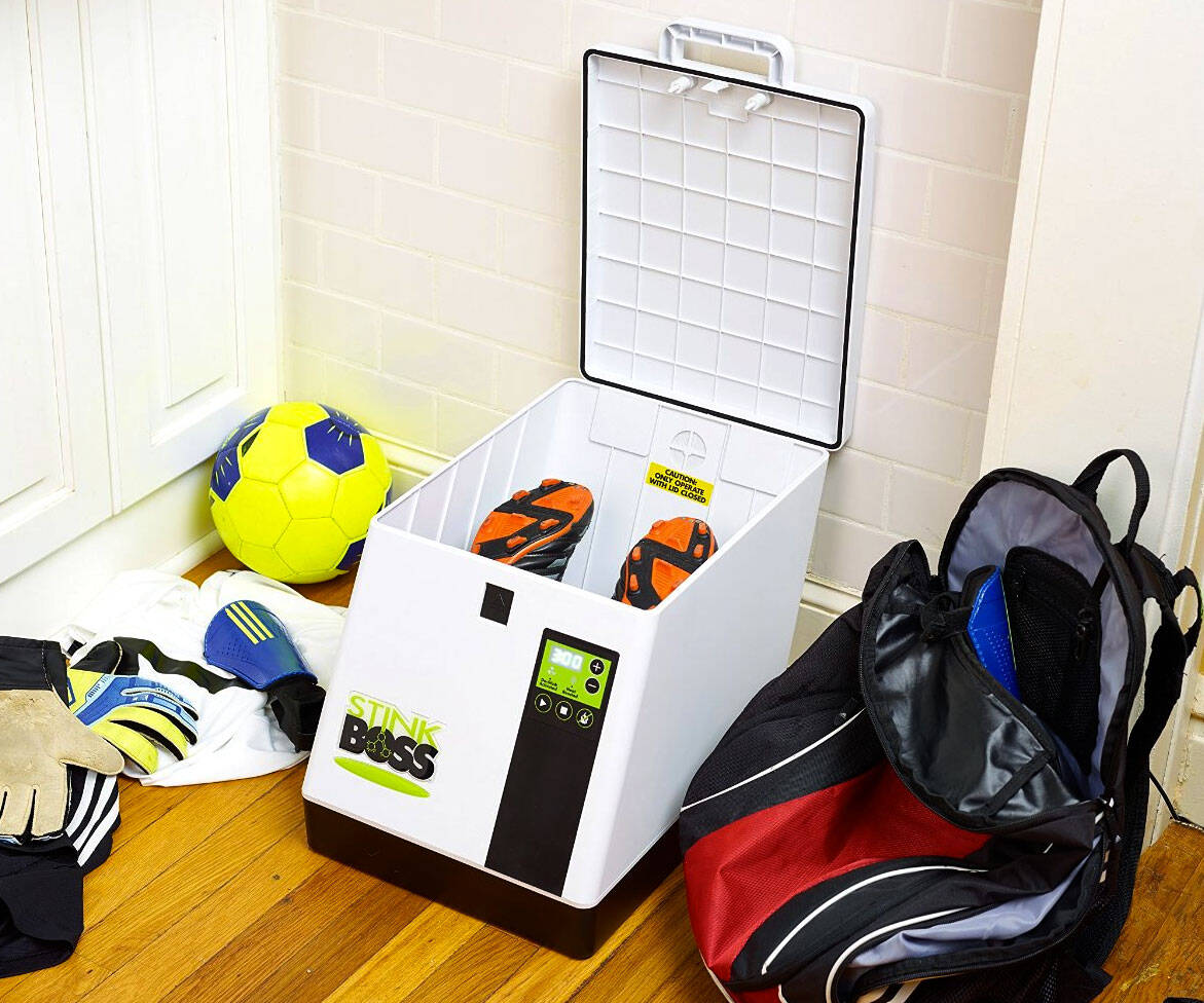 Shoe Deodorizer/Sanitizer/Dryer - http://coolthings.us