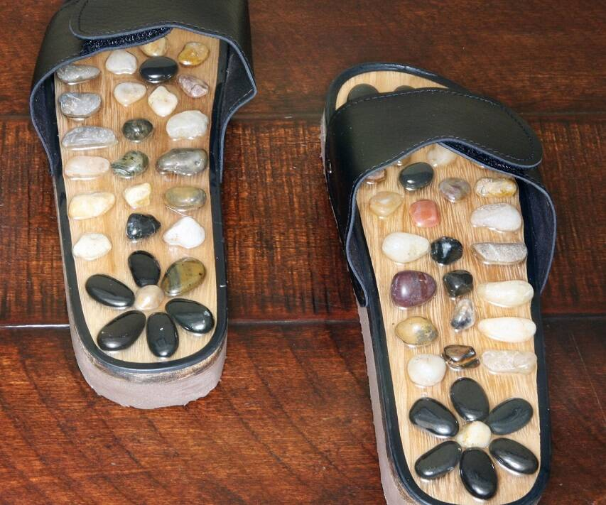 Stone Massage Slippers - http://coolthings.us
