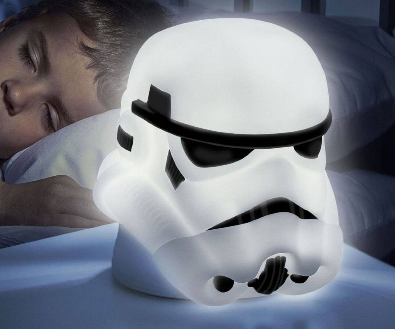 Stormtrooper Night Light And Flashlight - http://coolthings.us