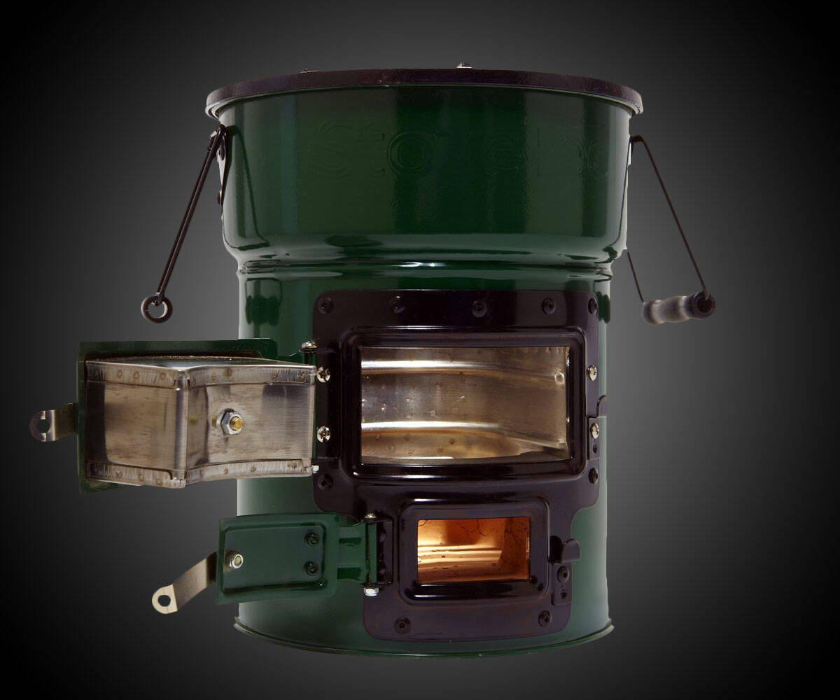 Stovetec Wood & Charcoal Stove - coolthings.us