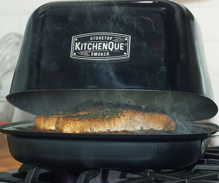 Indoor Stovetop Smoker - http://coolthings.us