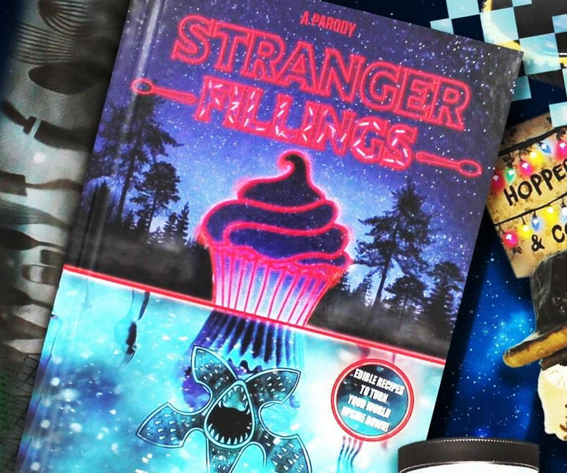 Stranger Things Parody Cookbook - http://coolthings.us