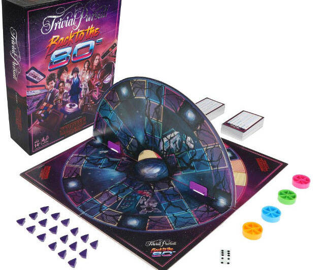 Back to the 80s Stranger Things Trivial Pursuit - http://coolthings.us