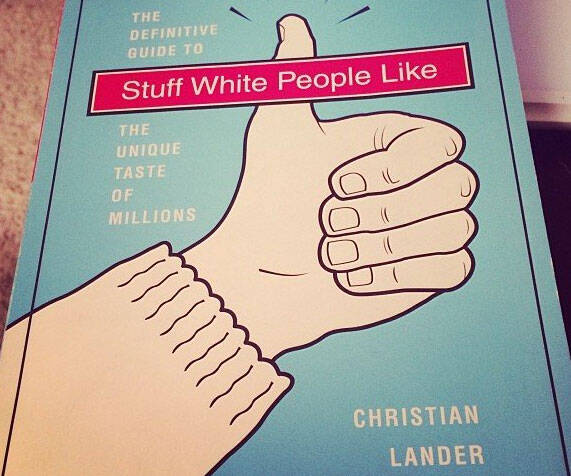 Stuff White People Like Book - http://coolthings.us
