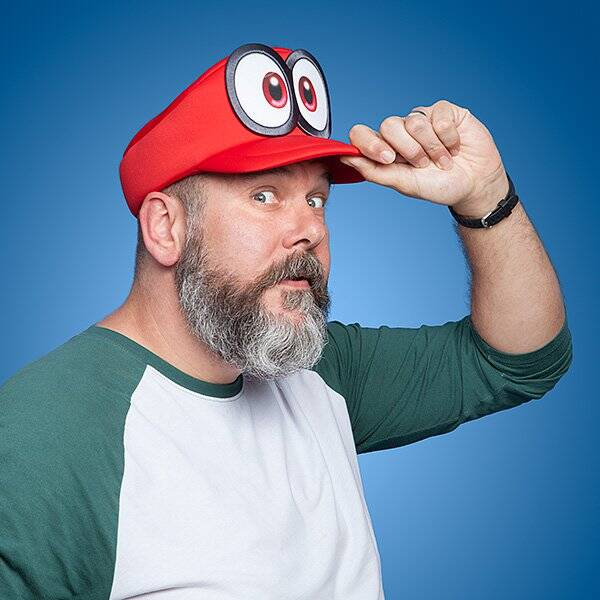 Super Mario Odyssey Cappy Hat - http://coolthings.us
