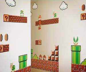 Super Mario Wall Stickers - http://coolthings.us