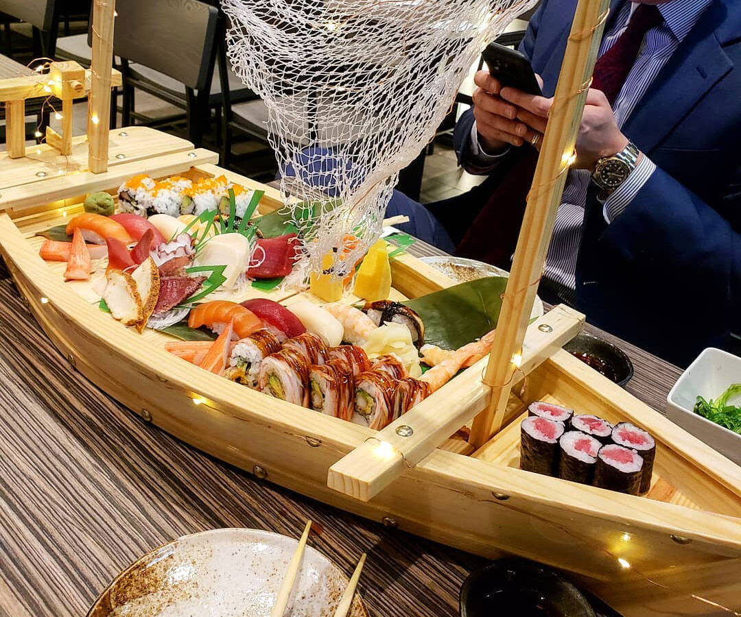 Sushi Boat Serving Tray - http://coolthings.us