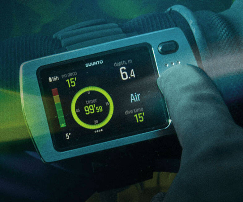 Suunto EON Steel Dive Computer - http://coolthings.us
