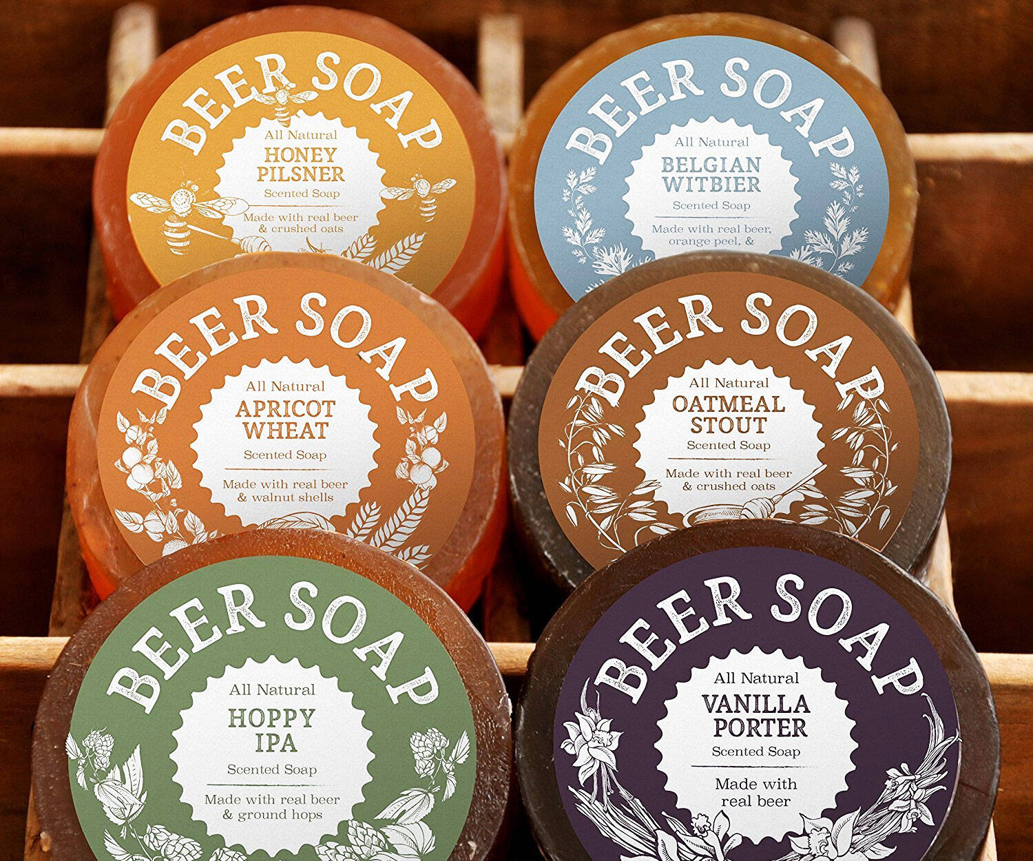 Beer Soaps - http://coolthings.us