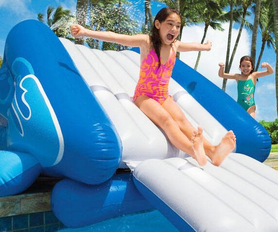 Inflatable Water Slide - http://coolthings.us