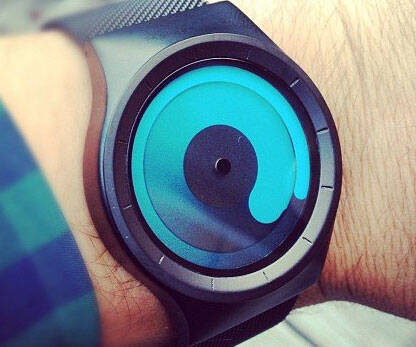Swirling Mercury Watch - http://coolthings.us