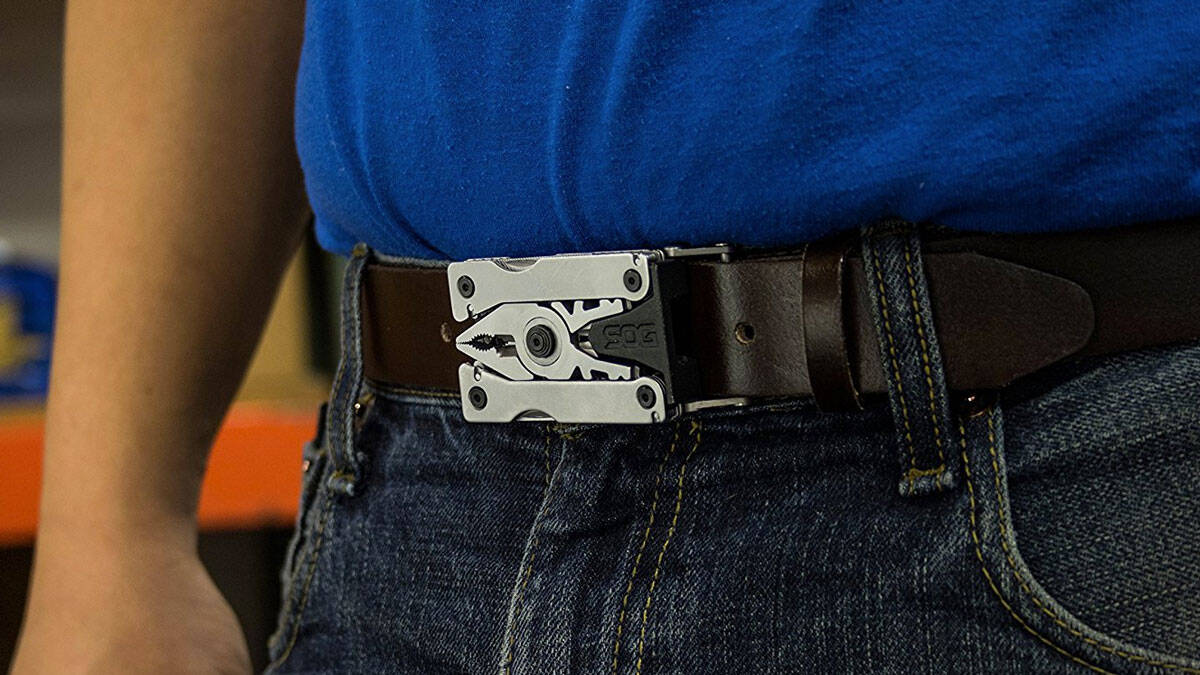 Multi-Tool Belt Buckle - http://coolthings.us