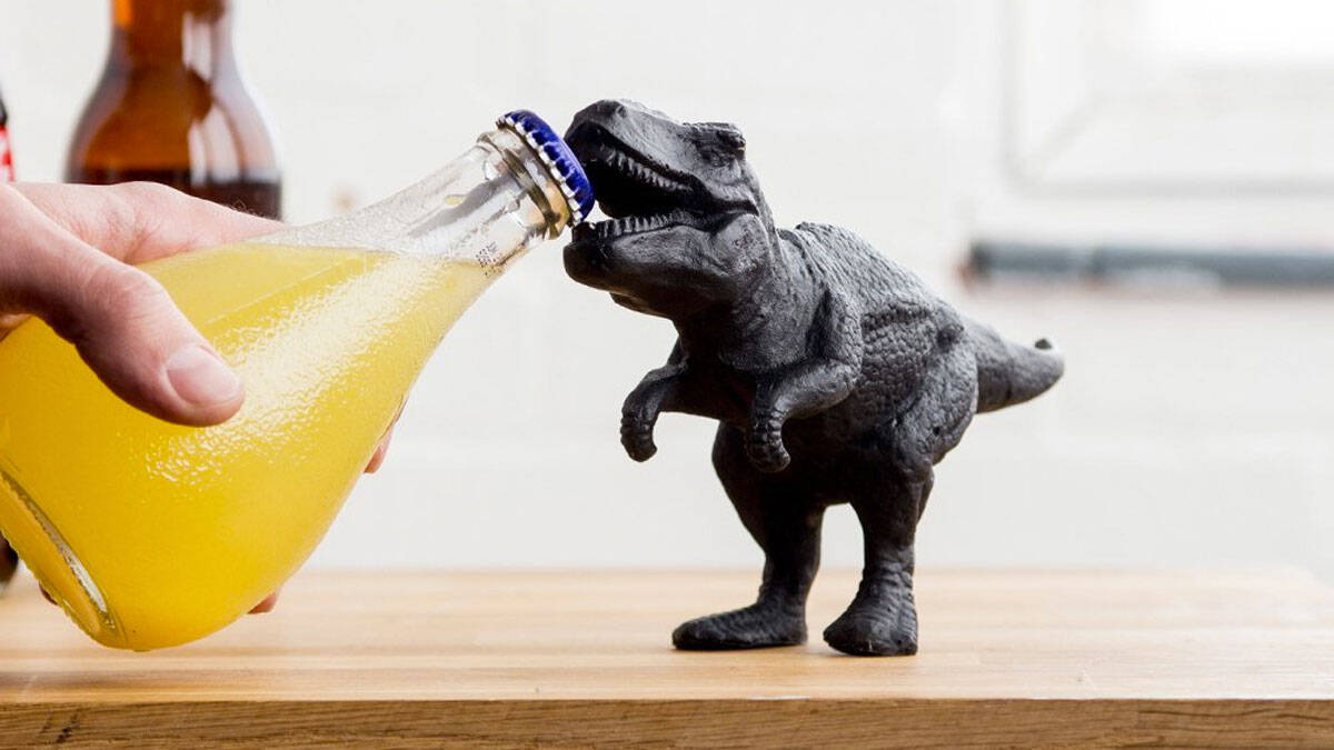 T-Rex Bottle Opener - http://coolthings.us